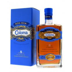 Ron Coloma 8 ans 70cl 40°