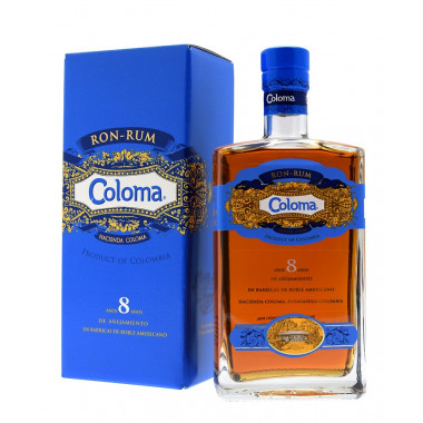 Coloma Rum 8 Years Old 70cl 40°