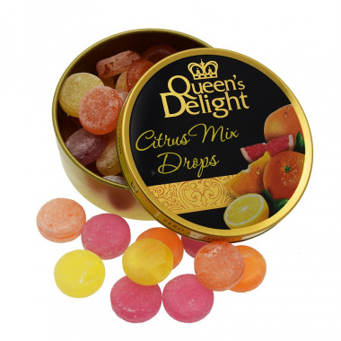 Citrus Mix Drops Queen's Delight 150g
