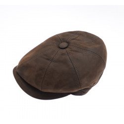 Celtic Alliance Brown Leather Cap