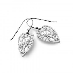 Heart-Shaped Tree of Life Earrings