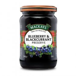 Blueberry & Blackcurrant Preserve Mackays 340g