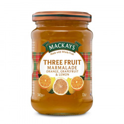 Three Fruit Marmelade Mackays 340g