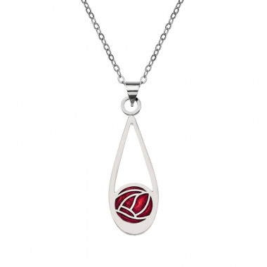 Red Drop Mack Pendant