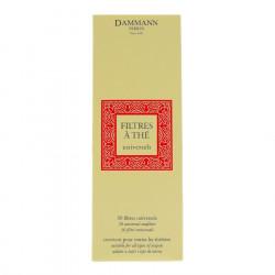 Paper Tea Filter x30 Dammann Frères