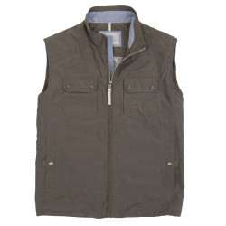 Gilet Couleur Terre Out Of Ireland