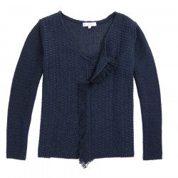 Out Of Ireland Fringes Facets Cardigan