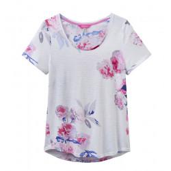 T-shirt Jersey Imprimé Fleurs Tom Joule