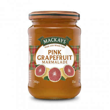 Pink Grapefruit Marmalade Mackays 340g