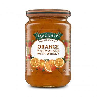 Marmelade Orange et Whisky Mackays 340g