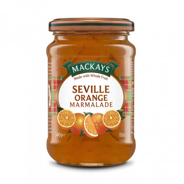 Marmelade Orange Seville Mackays 340g