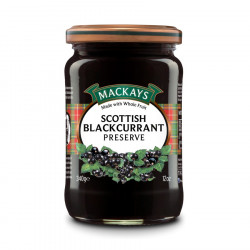 Scottish Blackcurrant Preserve Mackays 340g