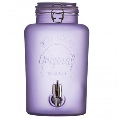 Kilner Purple Jar Beverage Dispenser 5L