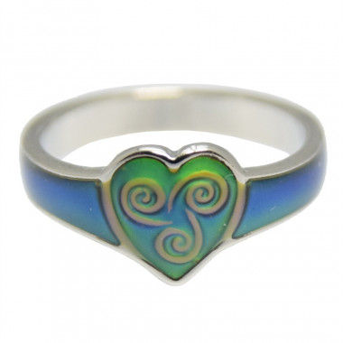 Bague Etain Celtic Magic