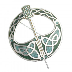 Green Tara Brooch