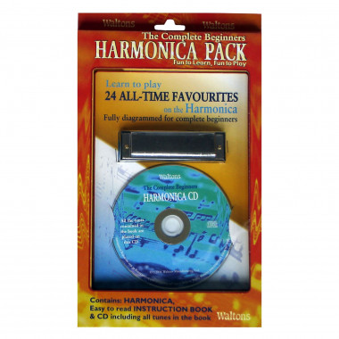 Harmonica Pack with CD & Tutorial