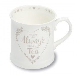Mug Blanc Tankard Tea Food For Thought 380ml