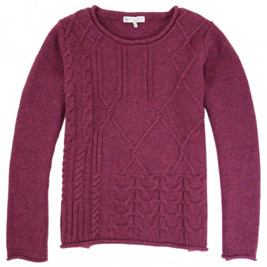 Out Of Ireland Fig Round Collar Sweater