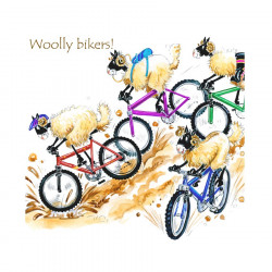 Woolly Bikers Coaster