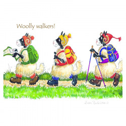 Woolly Walkers Placemat