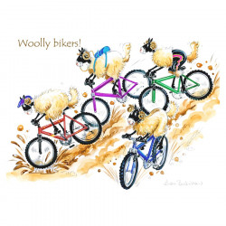 Set de Table Woolly Bikers