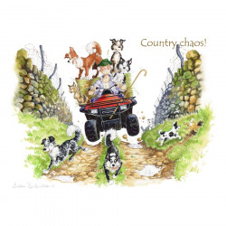 Country Chaos Placemat