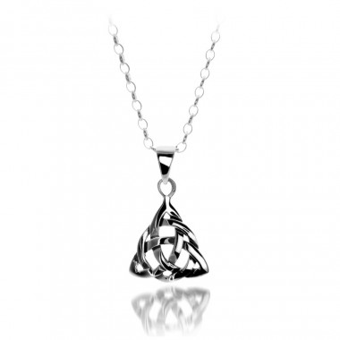 Celtic Silver Pendant
