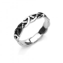 Celtic Silver Ring