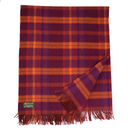 Plaid Laine Lambswool Irlandais John Hanly