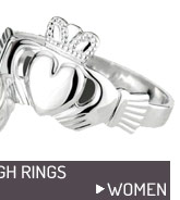 Claddagh rings for women