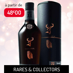 Whiskies rares et collectors