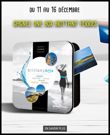 Gagnez une box Brittany Ferries