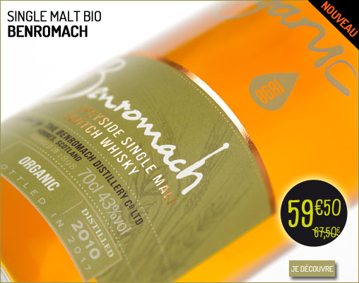Single Malt bio Benromach