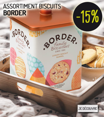 Assortiment biscuits Border