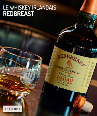 Le whiskey irlandais Redbreast