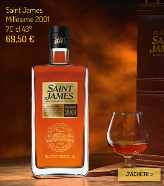 Rhum Saint James Millésime 2001
