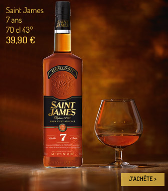 Rhum Saint James 7 ans