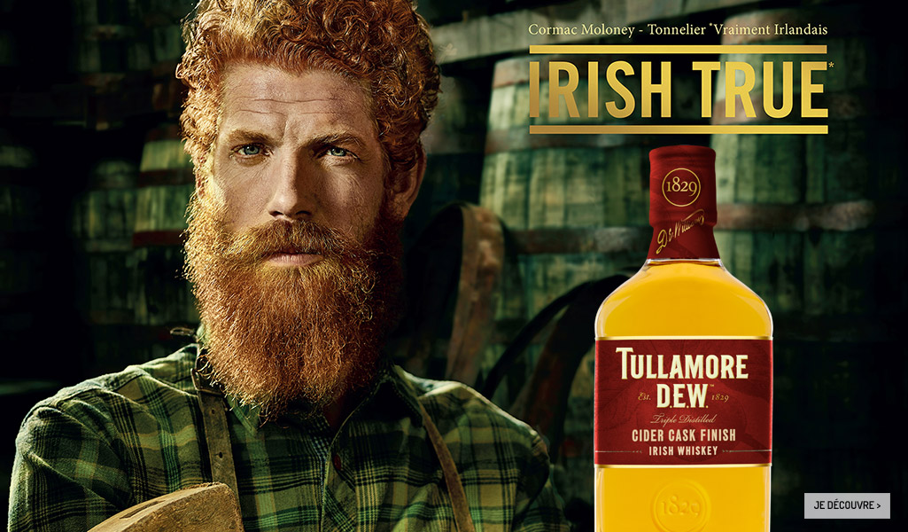 L'Irish whiskey Tullamore Dew