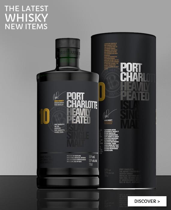 All whisky new items