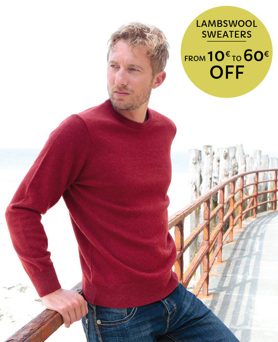 Lambswool sweaters special offer