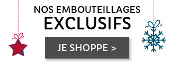 Nos embouteillages exclusifs