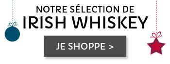 Notre sélection Irish whiskey
