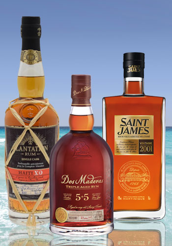 Christmas: our rum selection