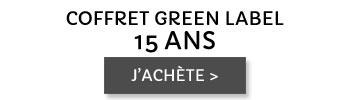 Coffret Green Label 15 ans