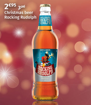 Christmas beer Rocking Rudolph