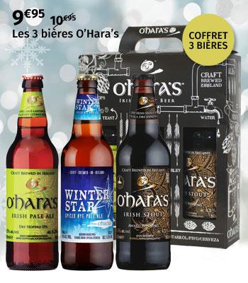 Coffret 3 bières O'Hara's