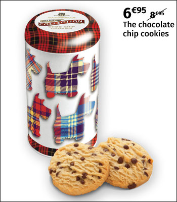 Campbells chocolate chip cookies