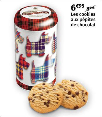 Cookies Campbells aux pépites de chocolat