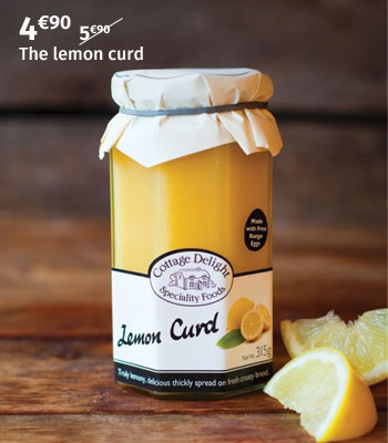 Cottage Delight lemon curd
