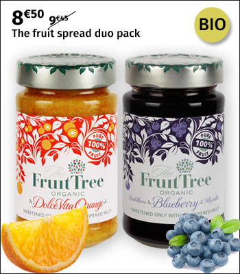 Fruit Tree fruit spread duo pack